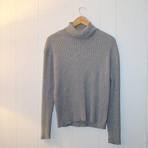 GAP Y2K Turtle Neck Sweater, Size L, 100% Cotton